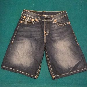 Men's True Religion Jean Shorts - Size 34